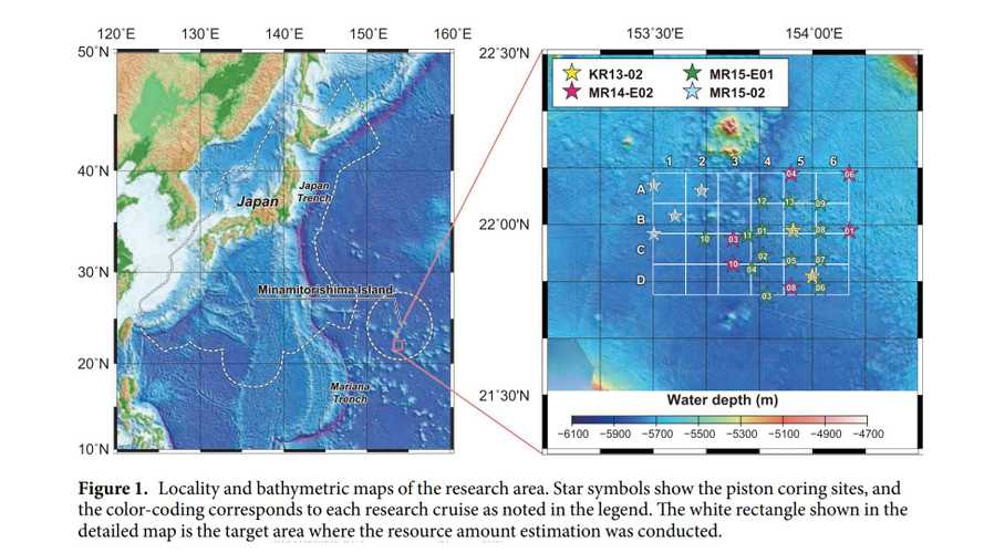 Rare-Earth Materials May Start Coming From Japanese Seafloor