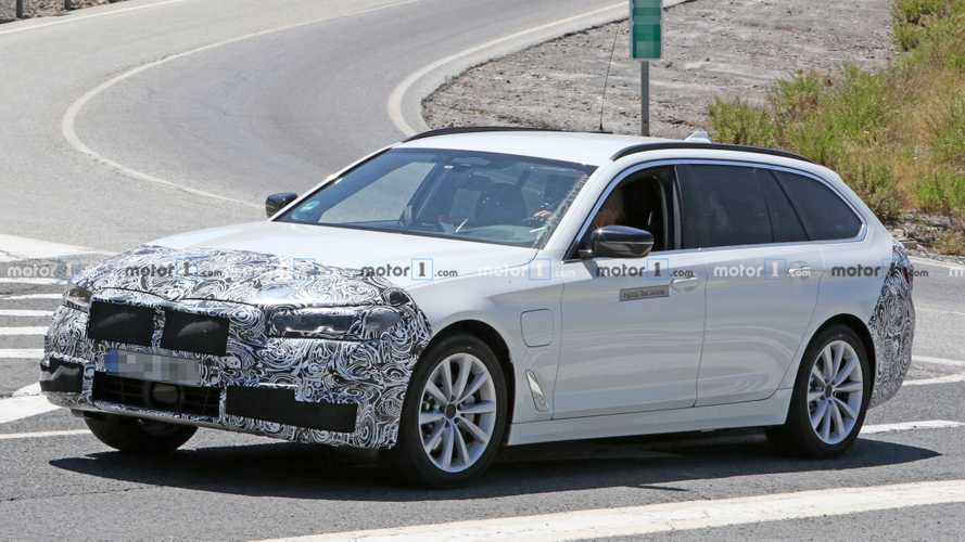 Refreshed BMW 5 Series Spied For First Time