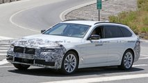 refreshed bmw 5 series spied
