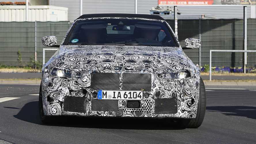 BMW M4 Cabriolet Spy Shots