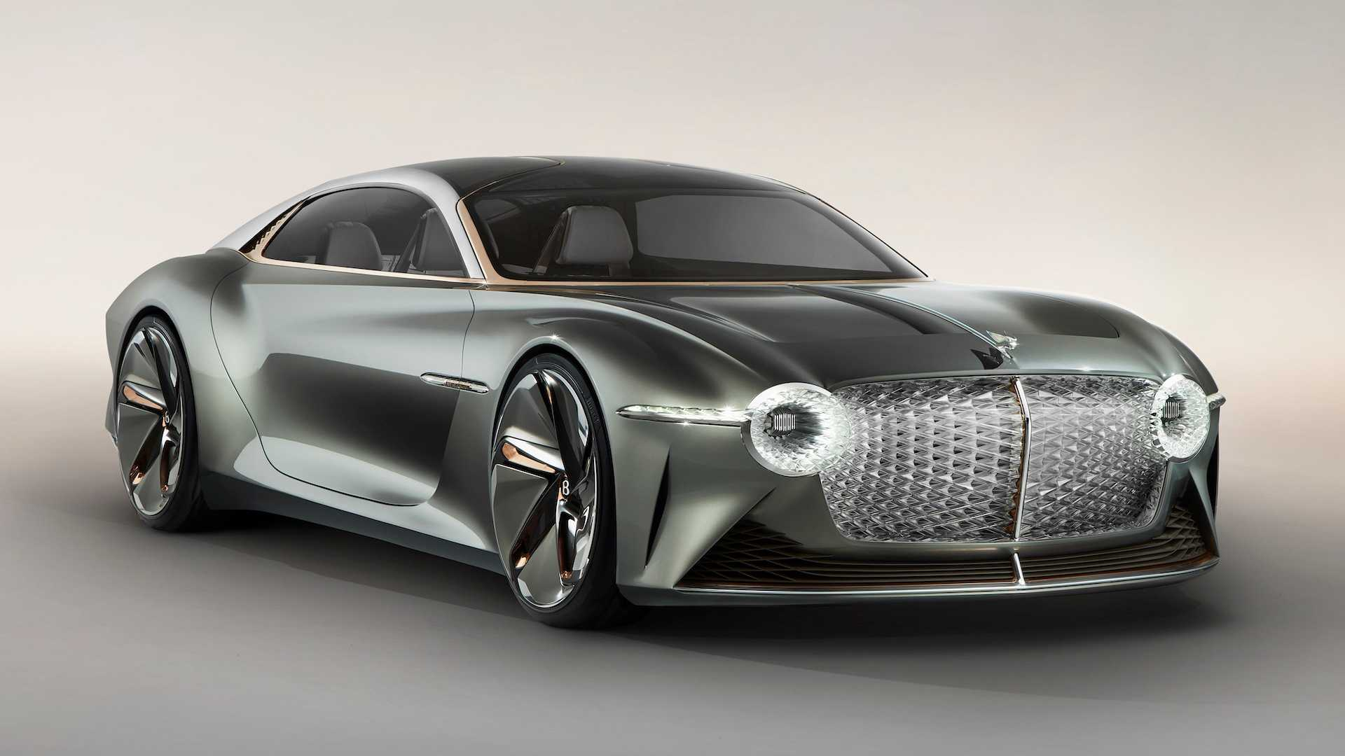 Bentley EXP 100 GT concept revealed as extravagant EV for 2035