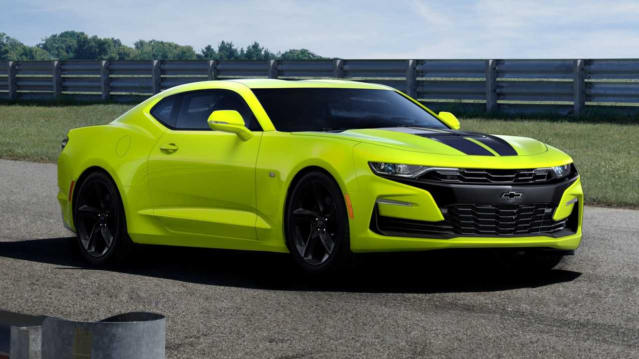 Chevy Camaro Shock And Black Editions Revealed… For Russia