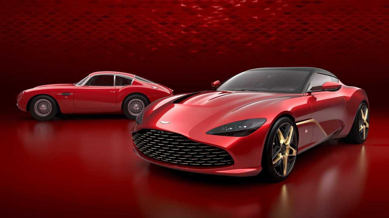 Voici La Nouvelle Aston Martin Dbs Gt Zagato