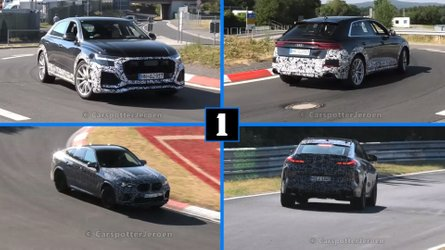Audi Rs Q8 Spied Looking Very Quick At The Ring