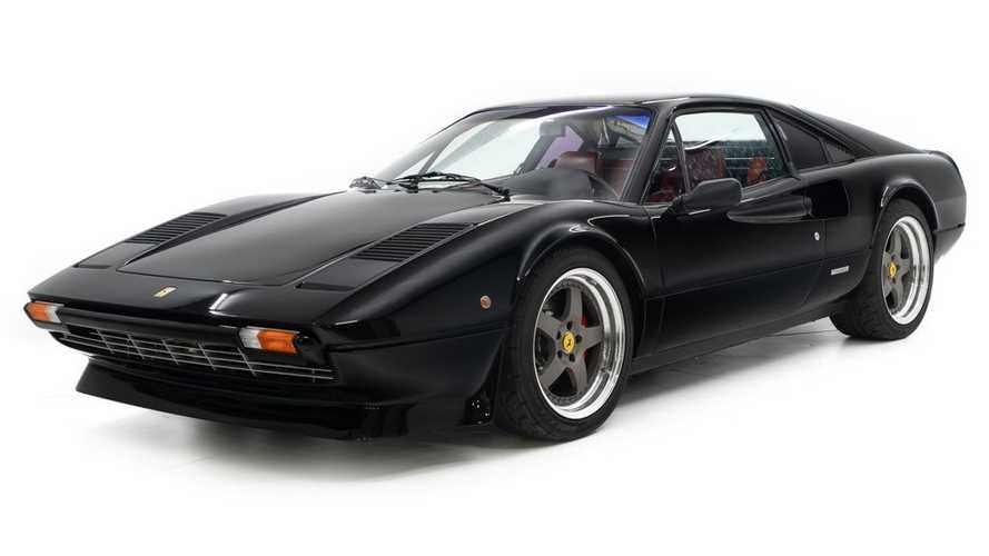 Supercharged Ferrari 308 GTB Is A Black Beauty