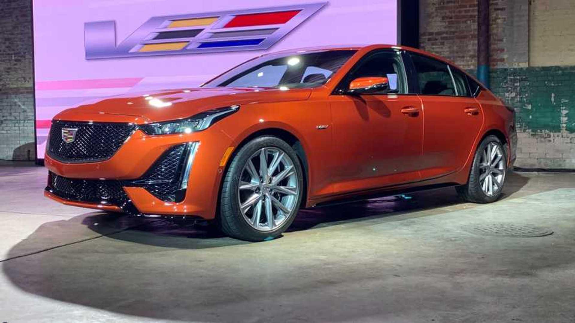 2020 Cadillac CT5-V Pricing Starts At $48,690, CT4-V Is $45,490
