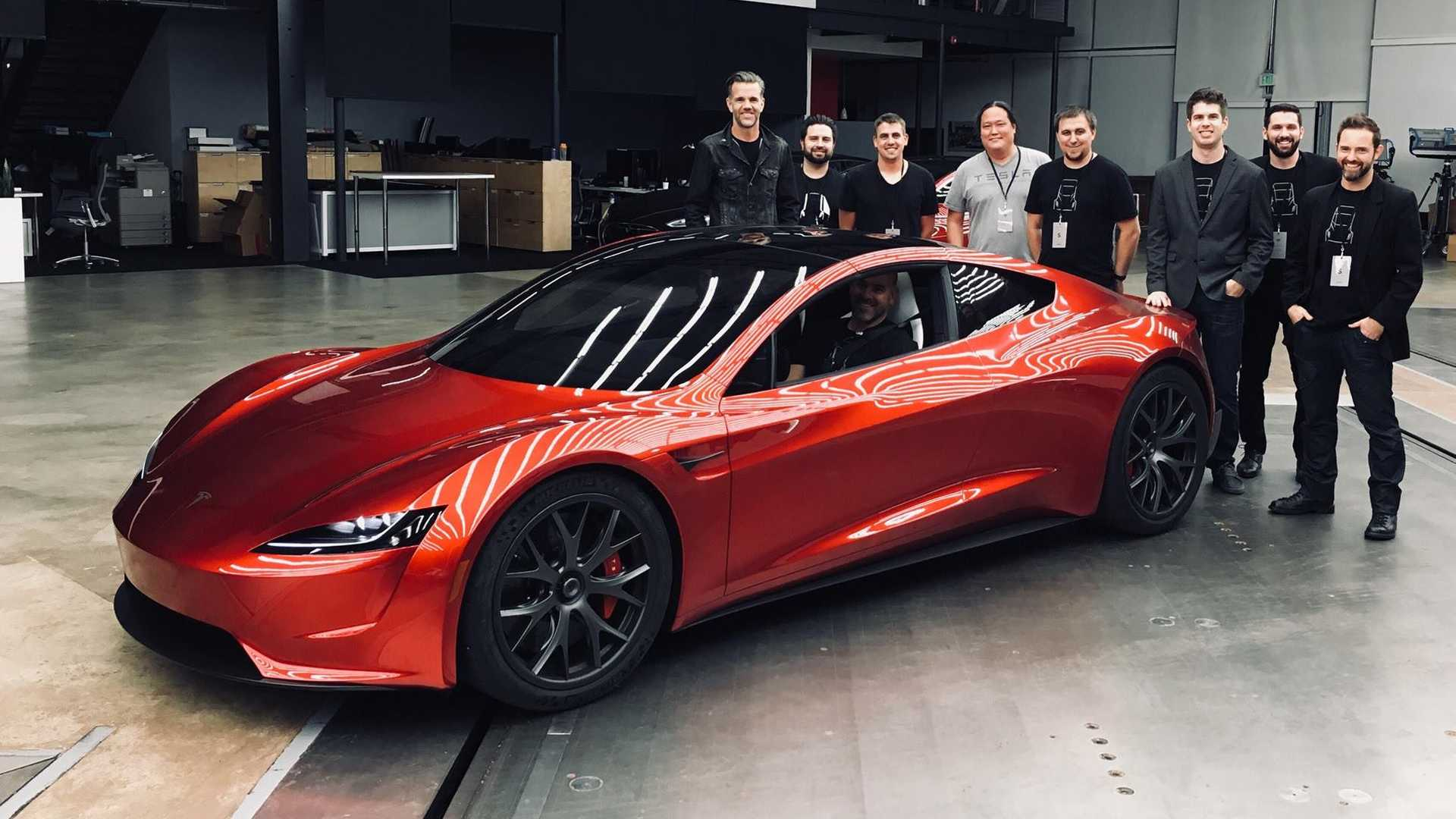 New Tesla Roadster Images Emerge