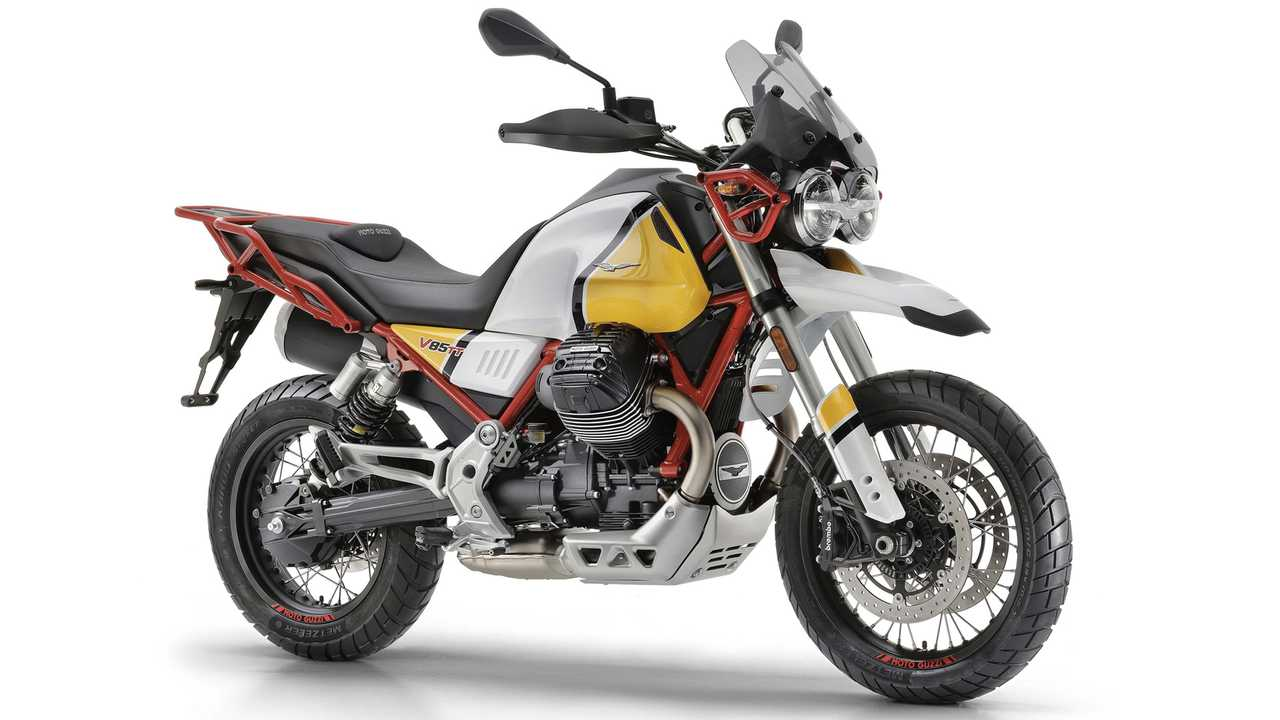 Sabrina - Moto Guzzi V85 TT