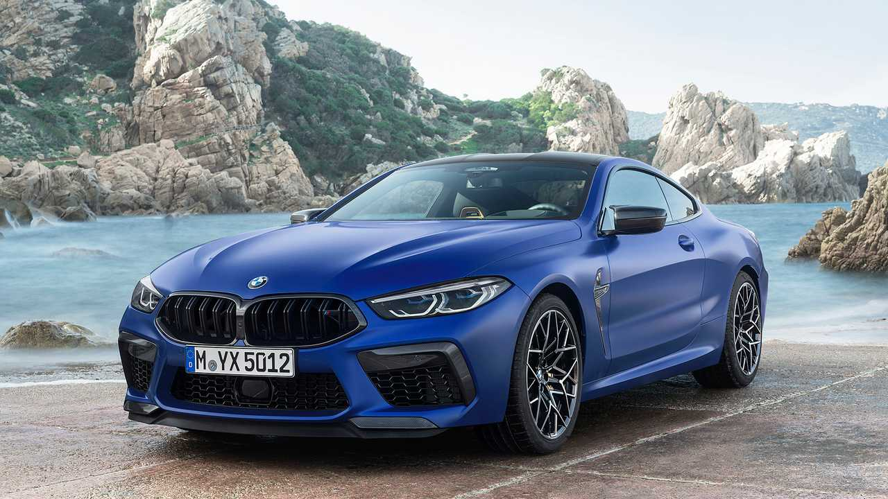 2020 bmw m8 videos focus on the m8 competition coupe