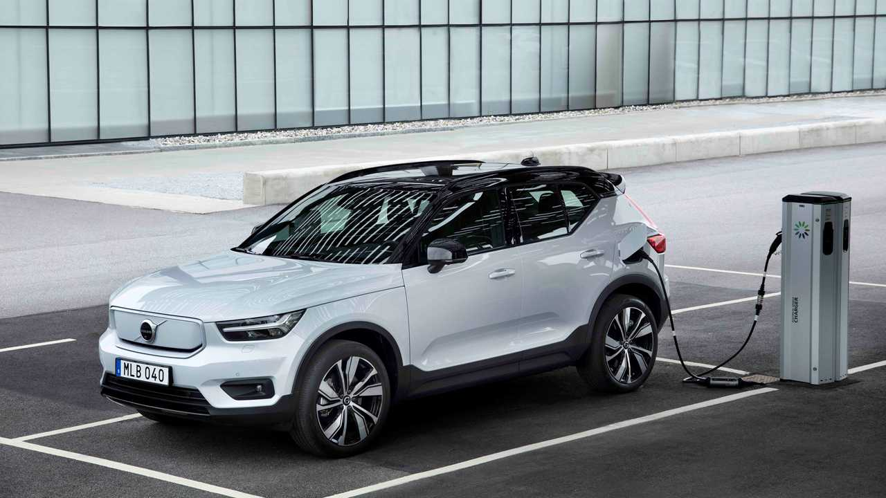 Volvo XC40 Recharge P8 in Europe