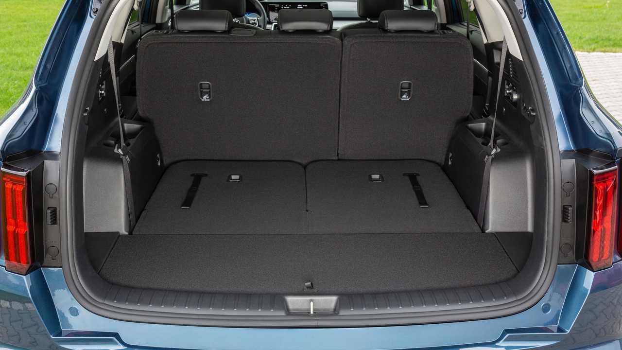 Kia Sorento (MQ4) – багажник