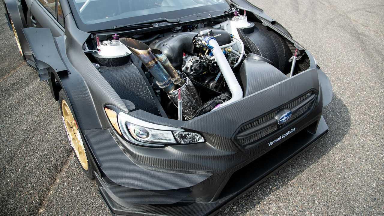 Travis Pastrana Gymkhana Subaru Wrx Sti Engine Motor1 Com Photos