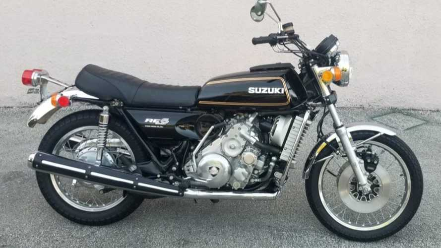 This Suzuki RE5 Has Never Been Ridden, And It Can Be Yours