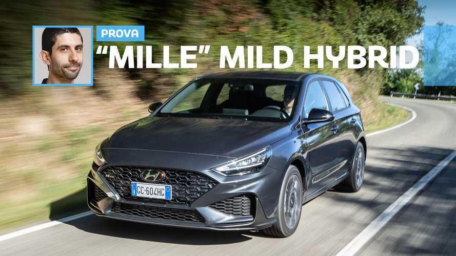 Hyundai i30 restyling, la prova del motore 1.0 benzina mild hybrid