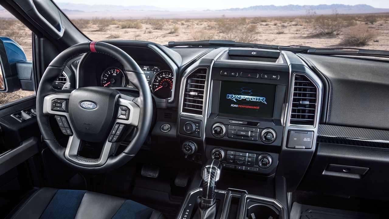 Ford Raptor Interior