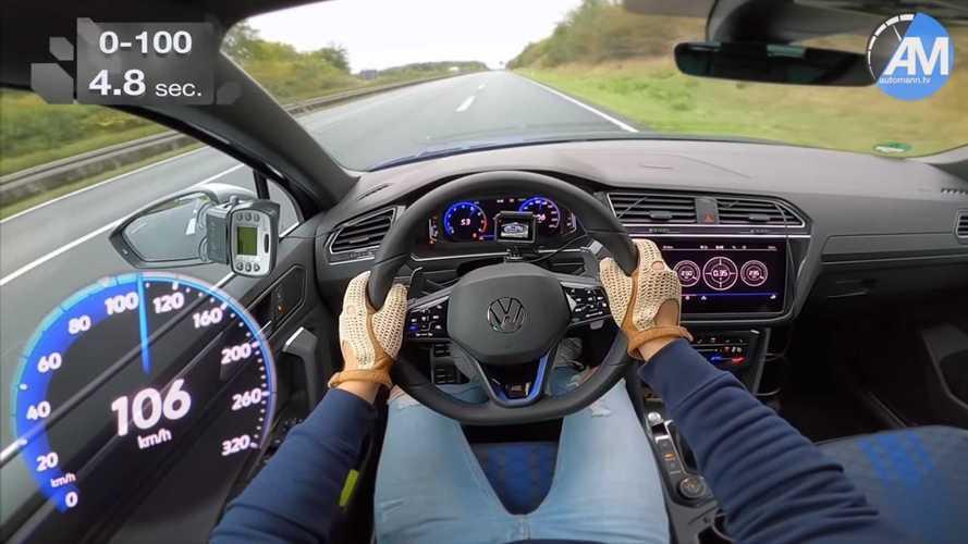Vídeo: el Volkswagen Tiguan R 2020 mejora la aceleración oficial