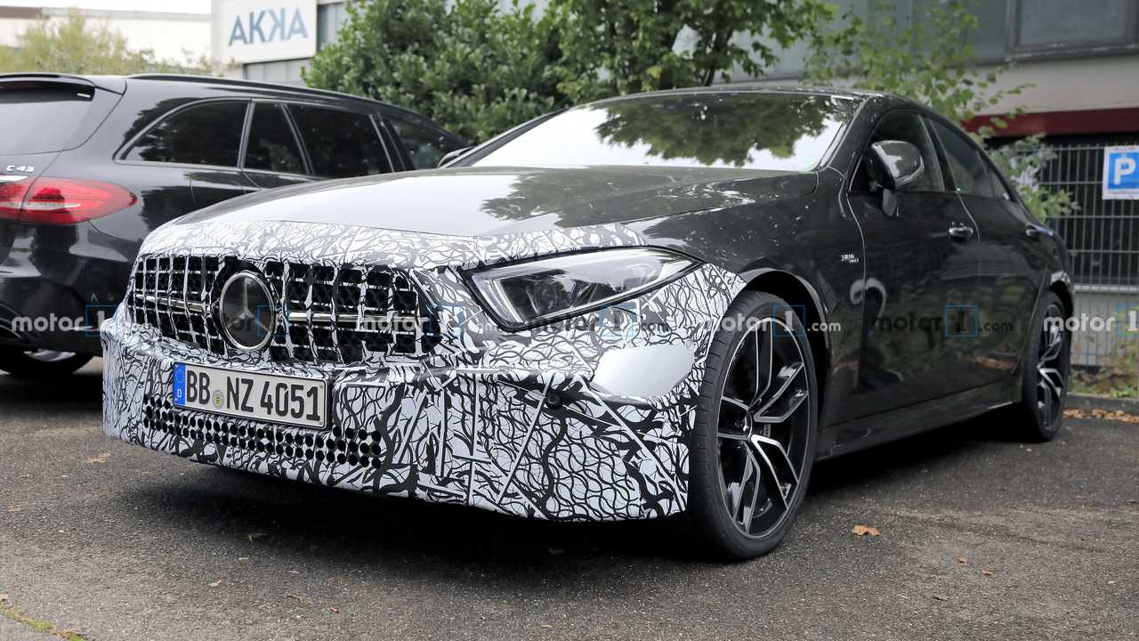 2022 Mercedes-AMG CLS 53 caught