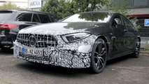 2022 Mercedes-AMG CLS 53 facelift spy photos