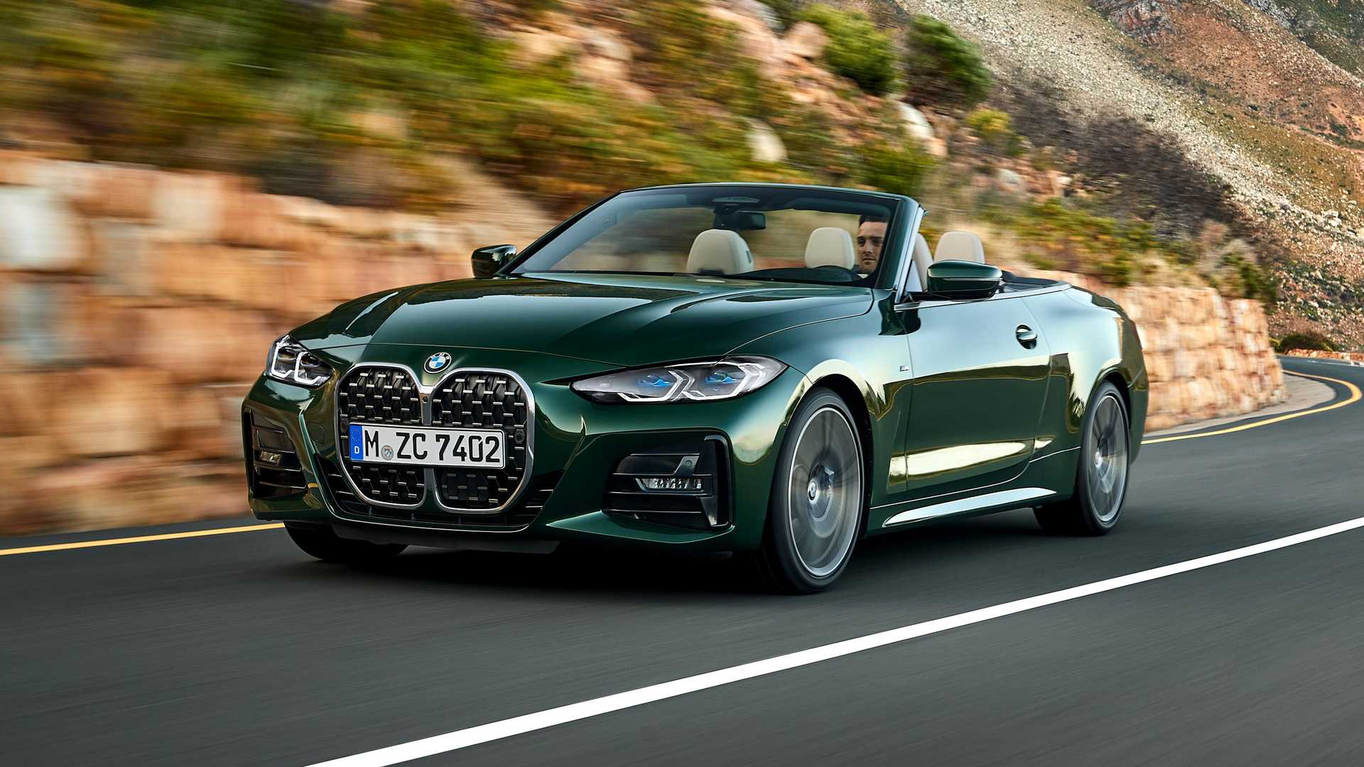 2021 BMW 4 Series Convertible Goes Soft, Debuts Without ...