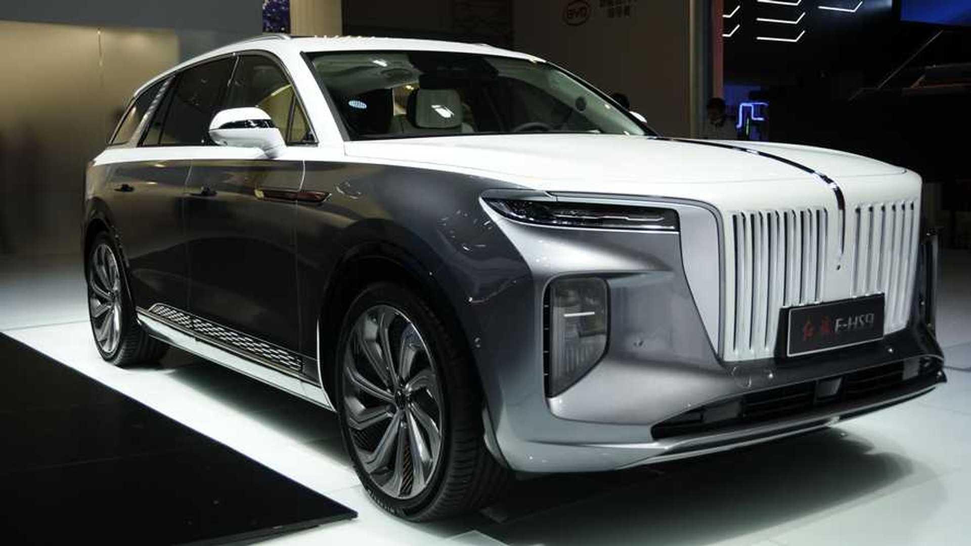Hongqi E Hs9 Is China S New Six Figure All Electric Luxury Suv