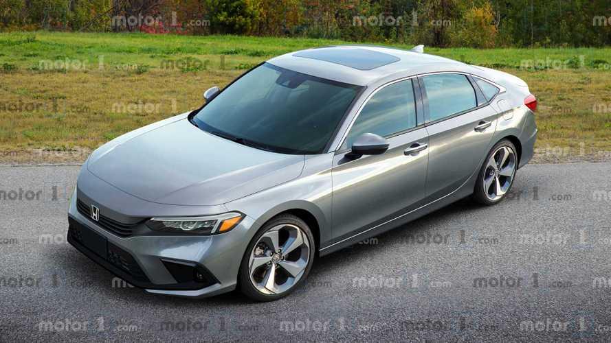 2021 Honda Civic Sedan %99 böyle görünecek