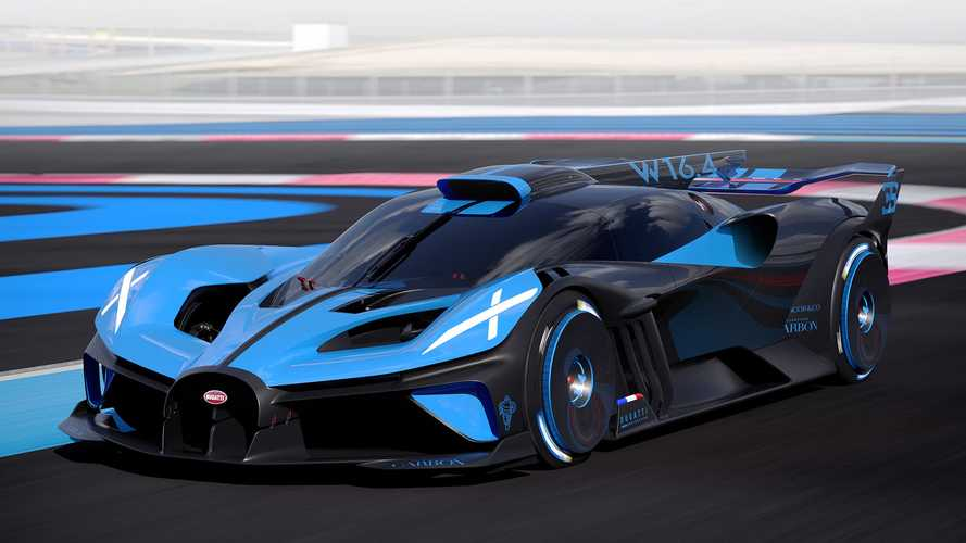 Bugatti Bolide Revealed With 1,825 HP And 311+ MPH Top Speed
