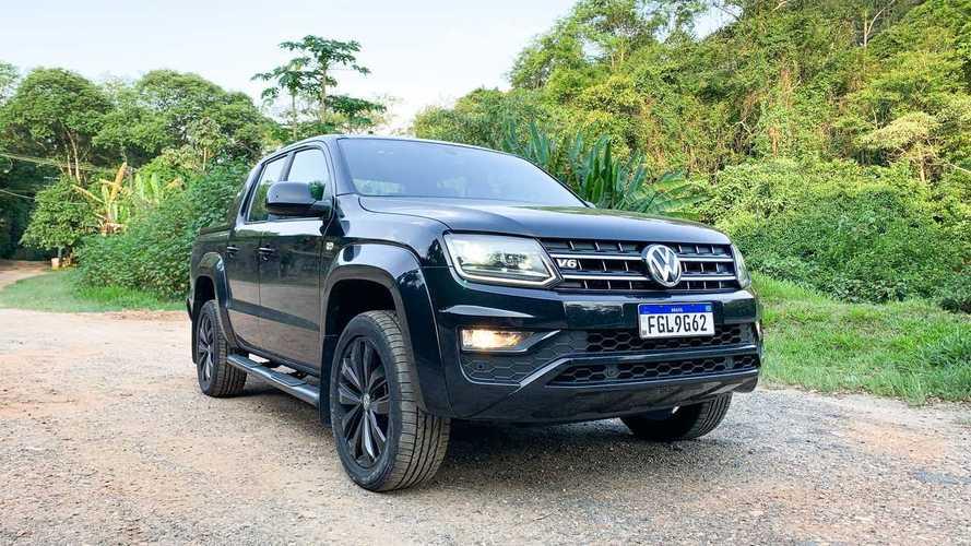 Vendas na Argentina em abril: VW Amarok supera Toyota Hilux