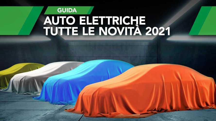 Auto elettriche 2021: ecco i 30 nuovi modelli in arrivo