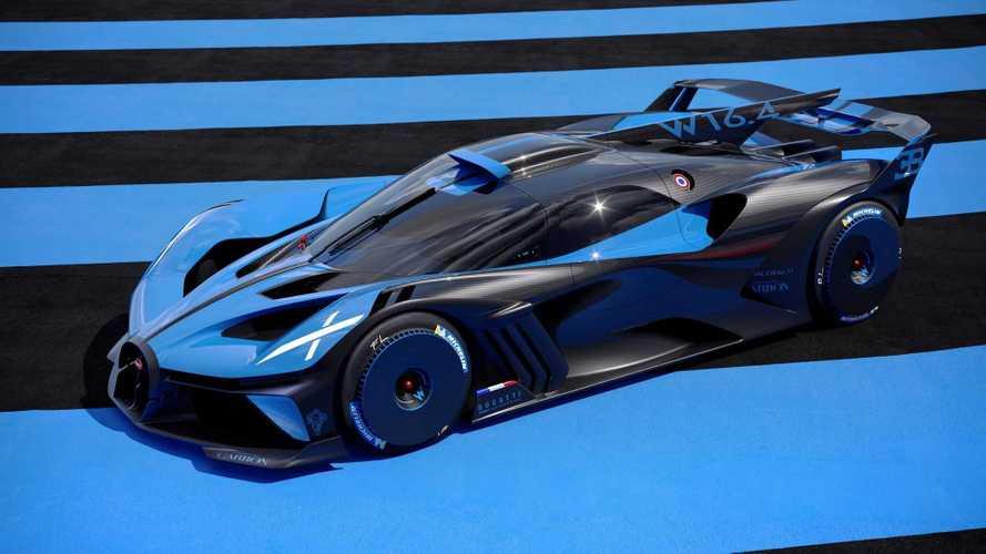 Bugatti Bolide, l'hypercar da 1.850 CV e 1.240 kg di peso
