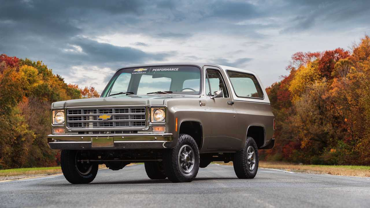 Electric Chevy K5 Blazer