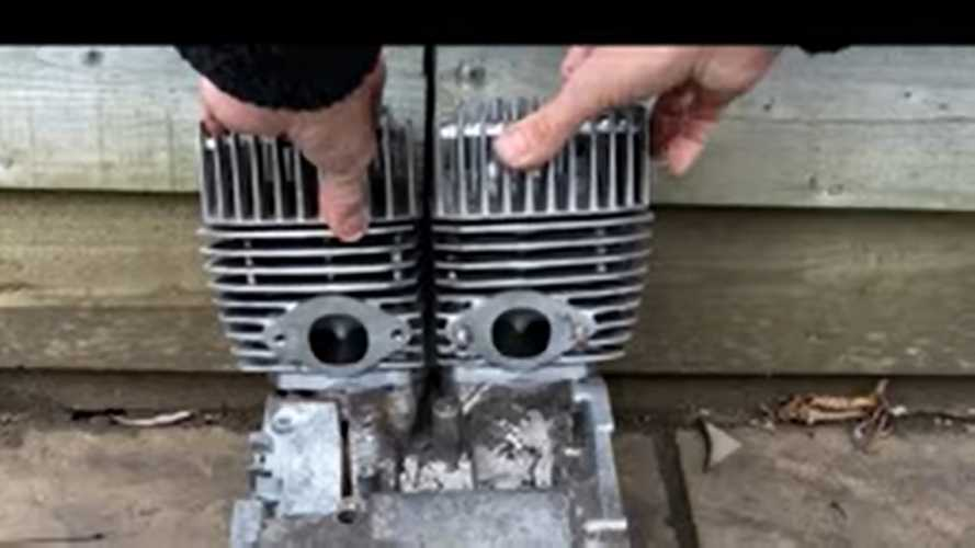 Watch Allen Millyard Transform Spare Parts Into A New Engine
