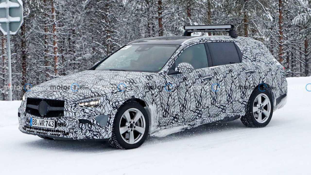 Mercedes-Benz C-Klasse Estate Spy der nächsten Generation Fotos