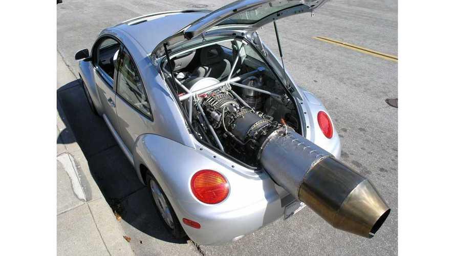 La folle VW Beetle à réaction de 1350 ch est à vendre !