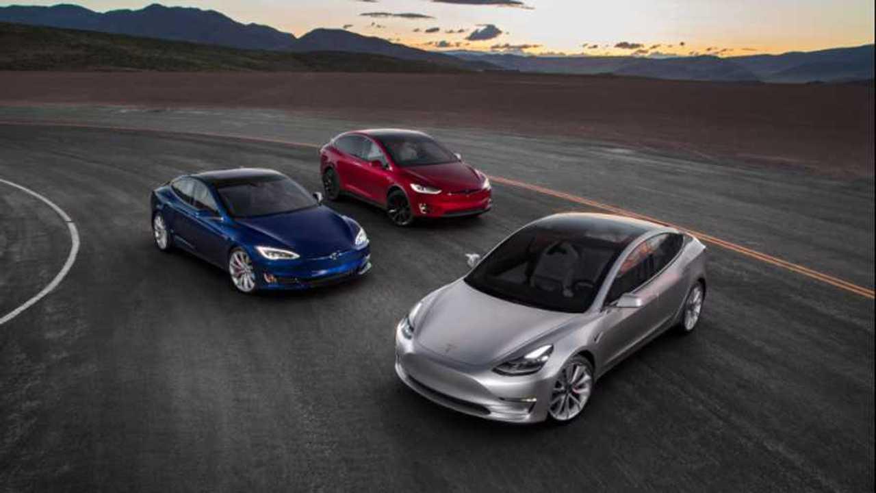 Tesla Model 3,S ve X