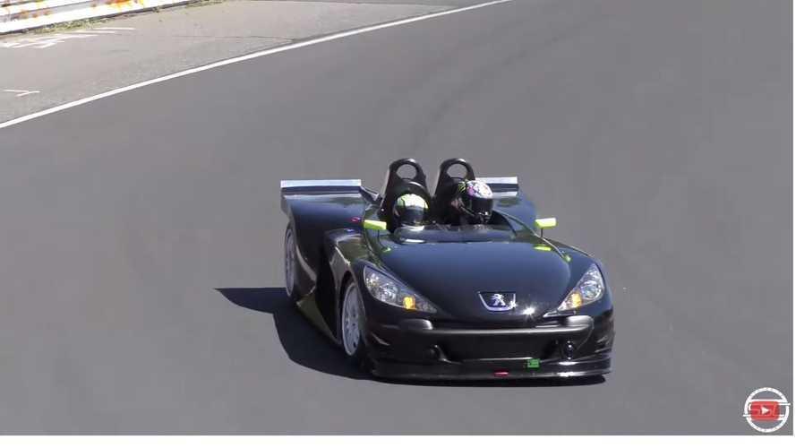 Vidéo - Une Peugeot 207 Spider Cup sur l'Enfer Vert