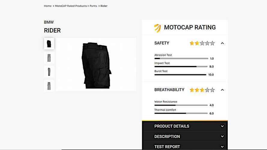 Moto Safety Database MotoCAP Says Women's Pants Have A Problem