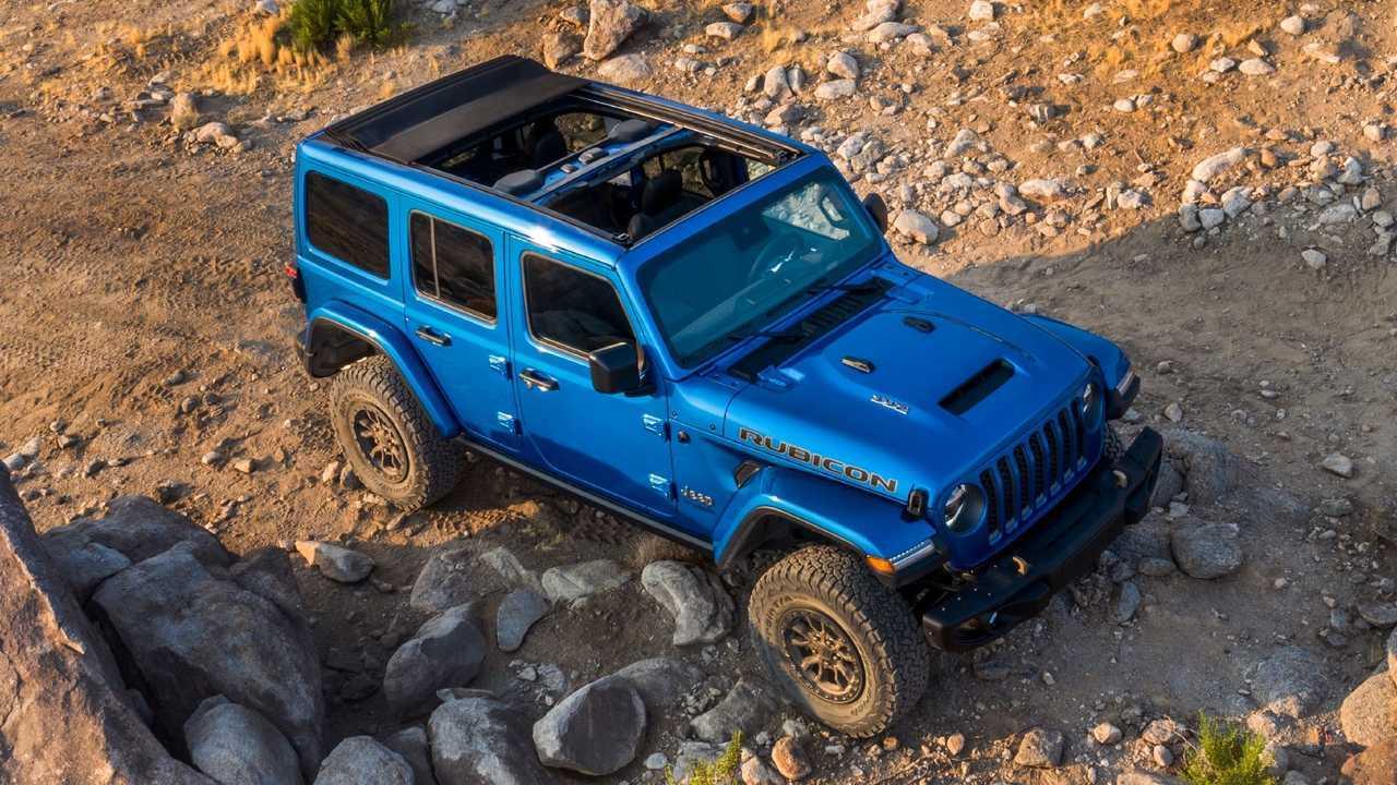 2021 Jeep Wrangler Rubicon 392 Top View
