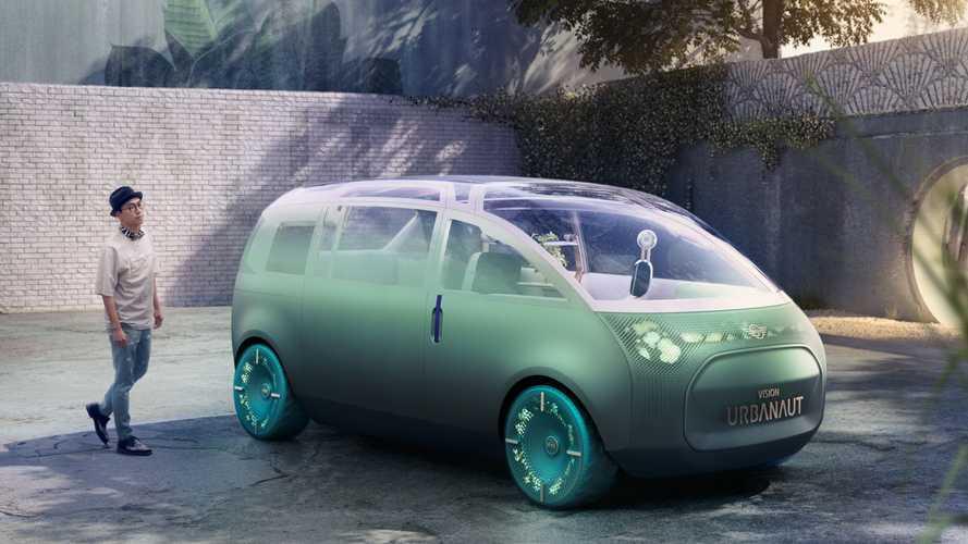 MINI Vision Urbanaut Tries To Take Minivans Into The Self-Driving Future
