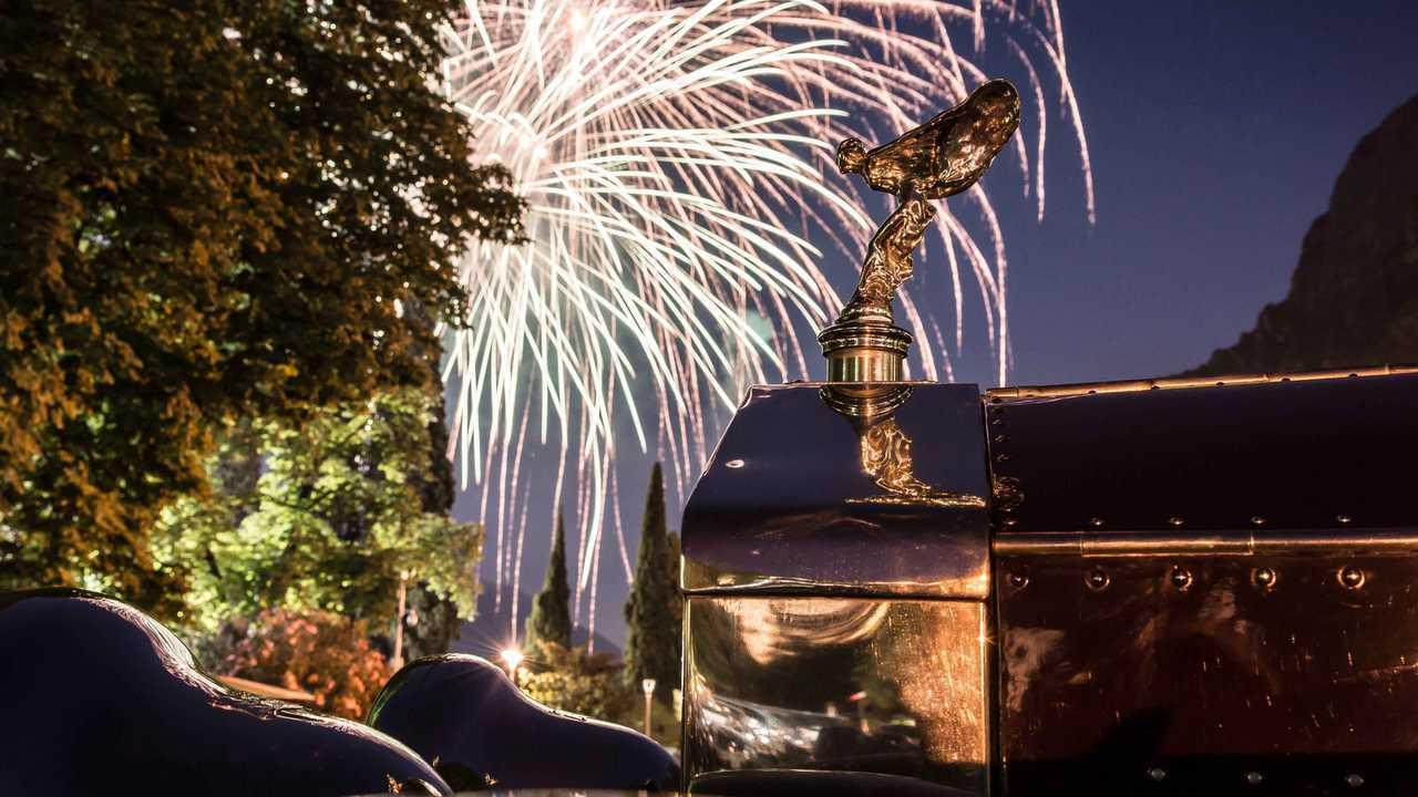 3. Mascotte ufficiale Rolls-Royce dal 1911