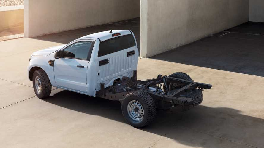 Ford Ranger Goes Full Utilitarian With Chassis Cab Model In Europe