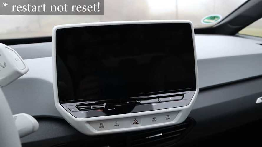 Volkswagen ID.3 Acting Up? This Guy Shows Us Some DIY Fixes