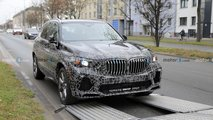 BMW X5 prototype spy photos