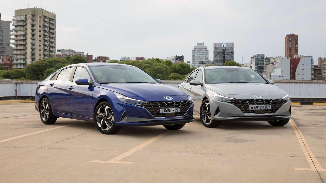 Новая Hyundai Elantra для России, экстерьер
