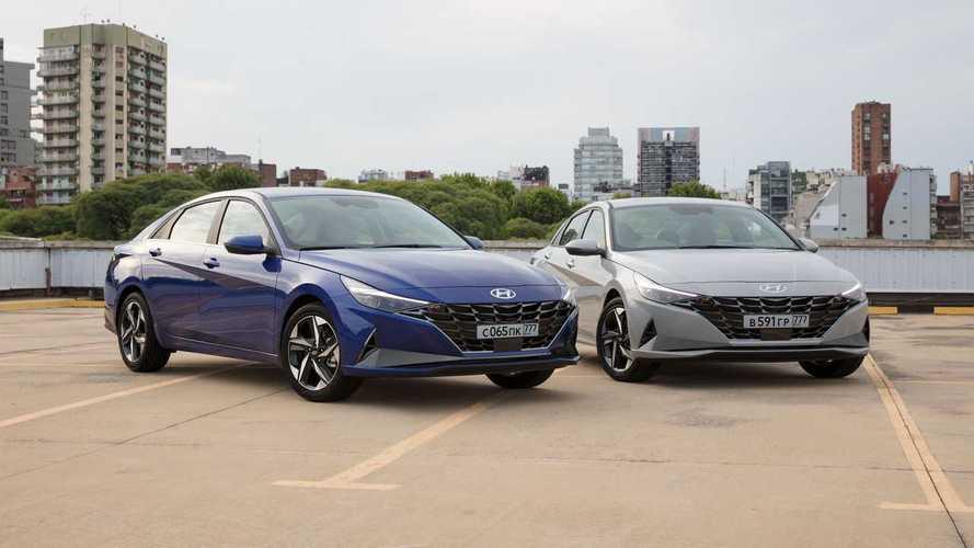 Новая Hyundai Elantra лишится механики в России