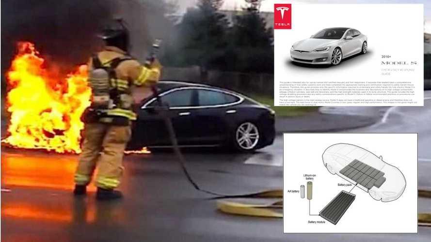NTSB Thinks EV Emergency Response Guides Do Not Help Fight EV Fires