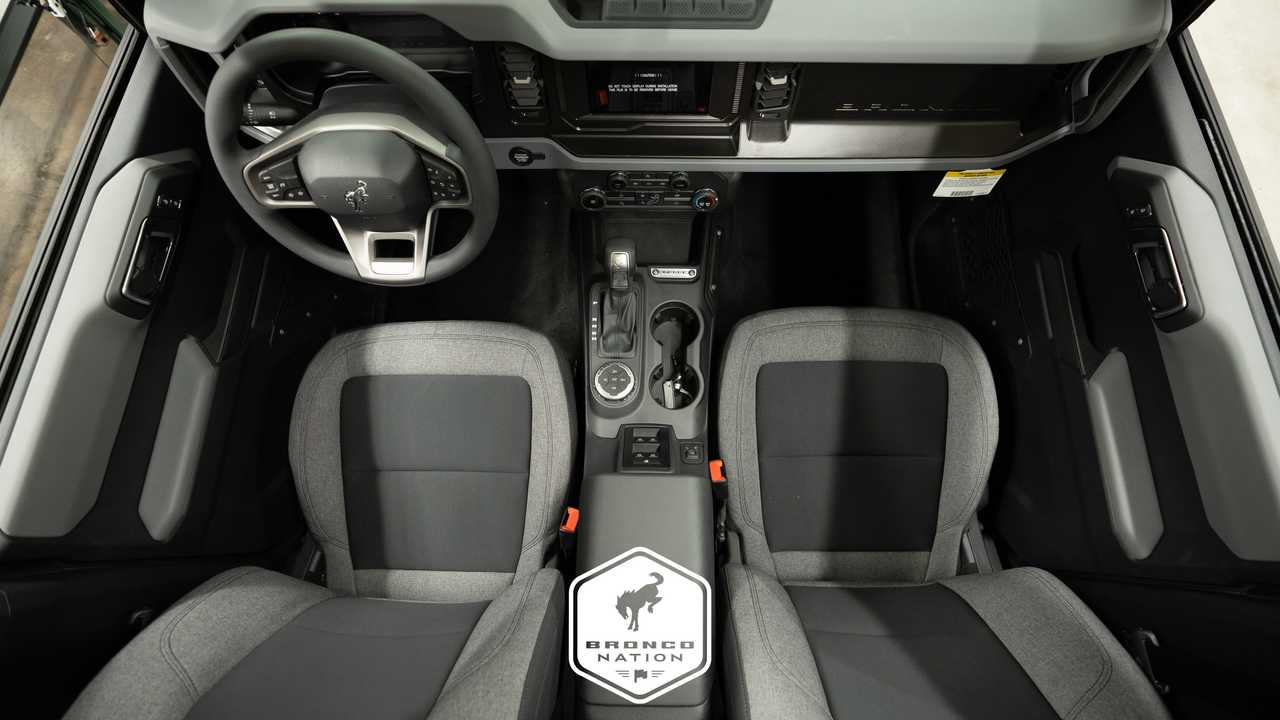 Ford Bronco Base Interior