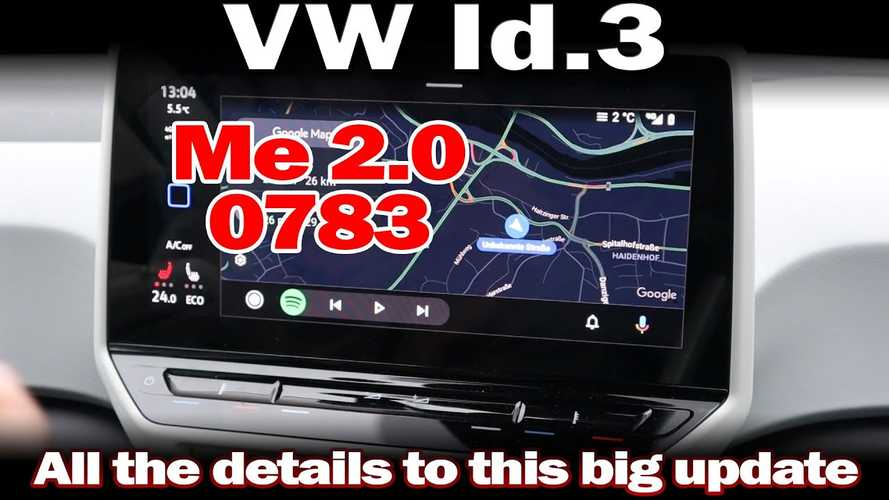 VW's Big ID. Software Update Fixed Some Issues, But Left Some For Later