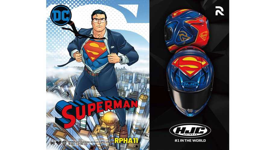 HJC RPHA11 Superman, il casco integrale da supereroi