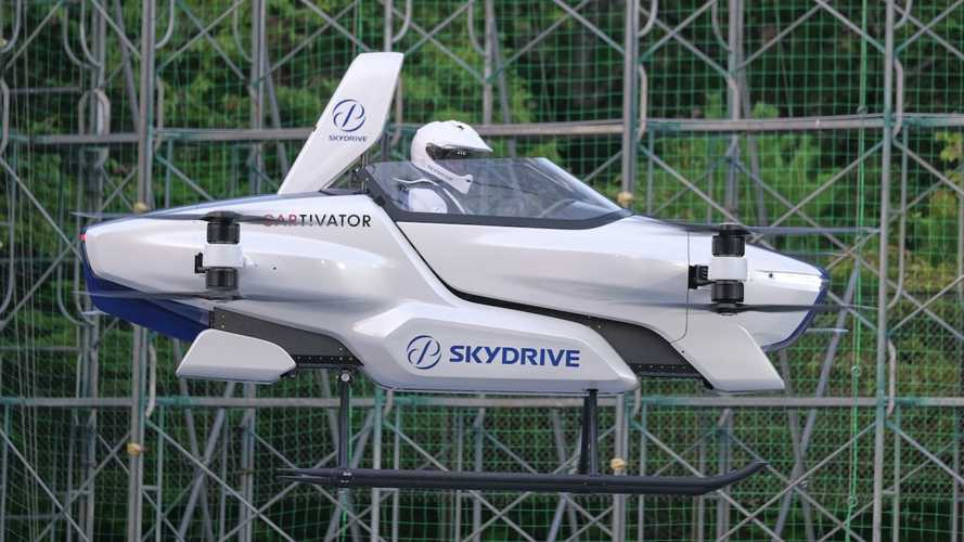 New Flying Car Takes Flight In Japan, But There's A Catch
