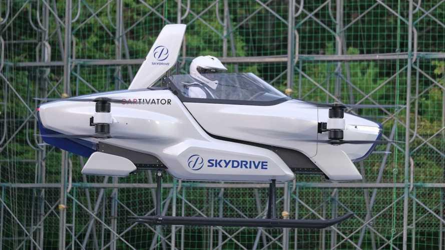 Japonya, olimpiyatlarda görev alacak uçan aracını tanıttı